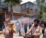 Muslim neighbours perform last rites of Kashmir Pandit woman in J&K