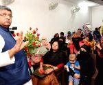Muslim women celebrate