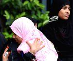 Muslim women celebrate Eid ul-Fitr