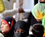 Muslim women meet Vijay Goel to express happiness over 'triple talaq' ordinance clearance