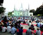 Ramadan - Muslims break fast during Iftar