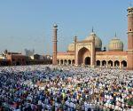 Eid Namaz at Jama Masjid