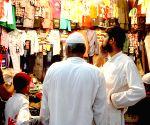 Muslims shopping on the last day of Ramadan in Kolkata