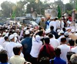 Muslims demonstrate against  Uniform Civil Code