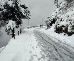 Season's heaviest snowfall in Uttarakhand