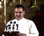Sanjeev Kumar Balyan takes oath as Union Minister