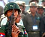 Signs of armed resistance in Myanmar