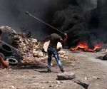 MIDEAST WEST BANK NABLUS CLASHES