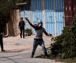 MIDEAST WEST BANK NABLUS CLASH