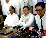 Assam, Nagaland, Kiren Rijiju - press conference