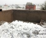 Hailstorm spreads thick white sheet in many parts of Rajasthan