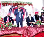 Fiat Chrysler India president during inauguration of a FIAT showroom