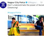 Nagpur police uses still from SRK's 'Chennai Express' for corona awareness