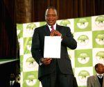 KENYA NAIROBI PRESIDENTIAL ELECTION UHURU KENYATTA WINNING