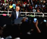 KENYA NAIROBI U.S. OBAMA SPEECH