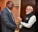 Modi meets Kenyan President