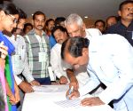 Telangana CM's durring a programme