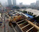 CHINA JIANGXI NANCHANG GROUND COLLAPSE