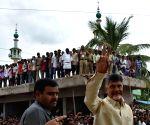 Nandyal (Andhra Pradesh): N. Chandrababu Naidu campaigns ahead of Nandyal bypolls