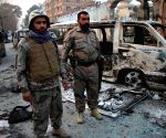 AFGHANISTAN NANGARHAR SUICIDE ATTACK AFTERMATH