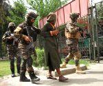 AFGHANISTAN NANGARHAR SUSPECTED MILITANTS CAPTURED