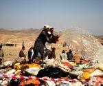 AFGHANISTAN NANGARHAR DRUG BURNING