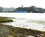 Nanjanagudu (Karnataka): Inundated Mysuru-Nanjangud Highway