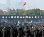 CHINA-NANJING MASSACRE VICTIMS-STATE MEMORIAL CEREMONY