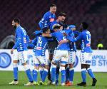 ITALY NAPLES FOOTBALL SERIE A NAPOLI LAZIO