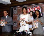 Bipasha unveils Health and Nutrition magazine issue