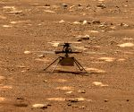 NASA's Mars helicopter to take first flight on Monday