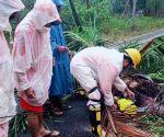 Srikakulam (Andhra Pradesh): Cyclone Fani: NDRF at work