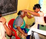 Navi Mumbai: Navy doctors during a Multi Specialty Medical Camp