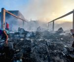 PHILIPPINES NAVOTAS CITY FIRE AFTERMATH