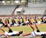 International Day of Yoga - Navy