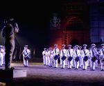 Navy Day rehearsals