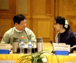 MYANMAR-NAY PYI TAW-POLITICAL FORCES-MEETING