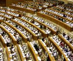 Nay Pyi Taw: Aung San Suu Kyi attend the 10th regular session of the Union Parliament