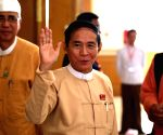 MYANMAR-NAY PYI TAW-VICE PRESIDENTIAL-NOMINATION