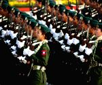 MYANMAR-NAY PYI TAW-73RD ARMED FORCES DAY