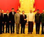 MYANMAR NAY PYI TAW CHINA GUO SHENGKUN VISIT