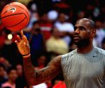 Don't think NBA is sad losing Trump as viewer, says LeBron James