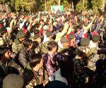 Major General R K Sharma flags-off NER Track Shillong camp