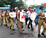 NCC Cadets participate in awareness rally on HIV AIDS