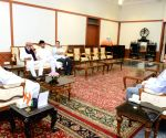 NCP delegation meet Maharashtra Governor