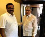Congress-NCP delegation meets Prakash Ambedkar