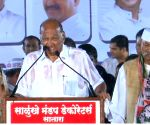 NCP election rally - Sharad Pawar