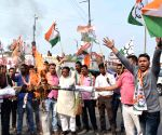 NCP's demonstration against Radha Mohan Singh