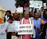 NDA leaders' demonstration against people protesting against demonetisation