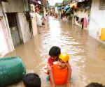 NDRF carries out evacuation drive in Gujarat's flooded Vadodara